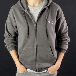 nunchaku connect sweat shirt zippé