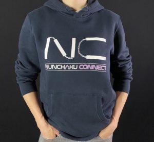 sweat shirt nunchaku connect
