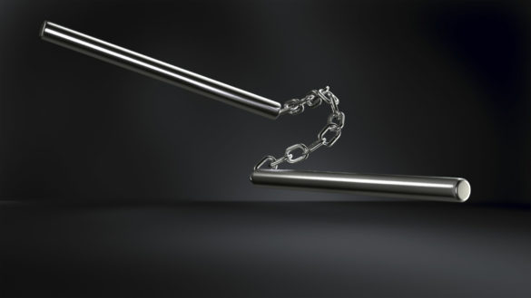 nunchaku-acier