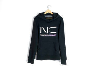 sweat-shirt-noir-nunchaku-connect-limited-edition