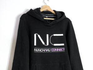 sweat-shirt-noir-nunchakuconnect