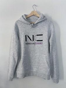 sweat-shirt-gris-NC-nunchaku-connect